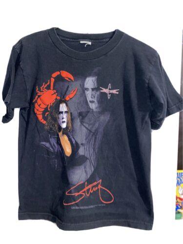 1999 Wcw Sting Vintage Shirt