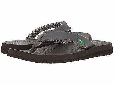 Women/'s Shoes Sanuk Yoga Mat Casual Flip Flop Sandals SWS2908 Gun Metal *New*
