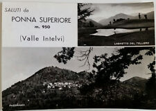 Cartolina Saluti da Ponna Superiore m. 950 Valle Intelvi VIAGGIATA Postcard