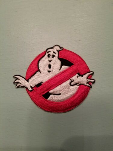 "3.5/"" GHOSTBUSTERS GHOST Movie Logo BUSTERS Embroidered Applique Patch cool!!"