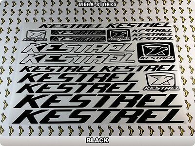"KESTREL Stickers Decals Bicycles Bikes BMX Cycles Frames /""DIFFERENT COLORS/"" 55F"