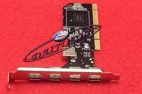 5 Port USB 2.0 High-Speed PCI Controller Card Adapter Hub 4 External &1 Internal
