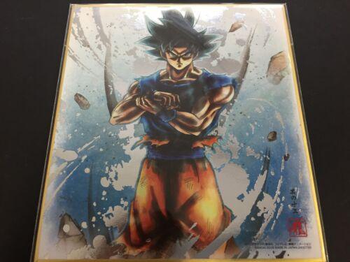 BANDAI Dragon Ball Shikishi 5 ART5 Son Goku RARE Kiwami Dragonball ART 5 JAPAN
