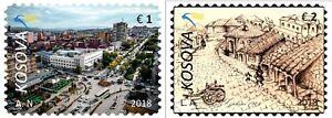 Kosovo-Stamps-2018-Gjilani-Cities-of-Kosova-Set-MNH