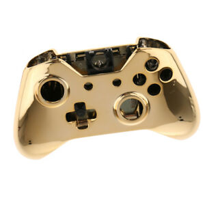 Details about For Xbox One Controller Chrome Faceplate Shell Cover Case  Front Housing 1Pcs