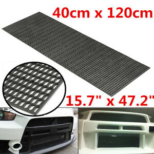 Details about Universal ABS Plastic Racing Honeycomb Mesh Grill Spoiler  Bumper Vent 16