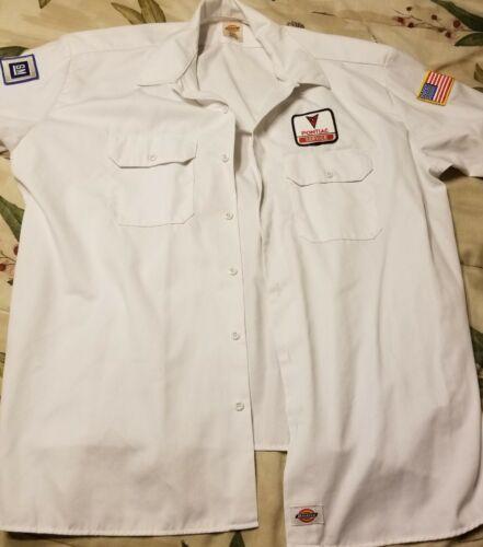 Dickies 2XL Short sleeve Pontiac Service Work Unif