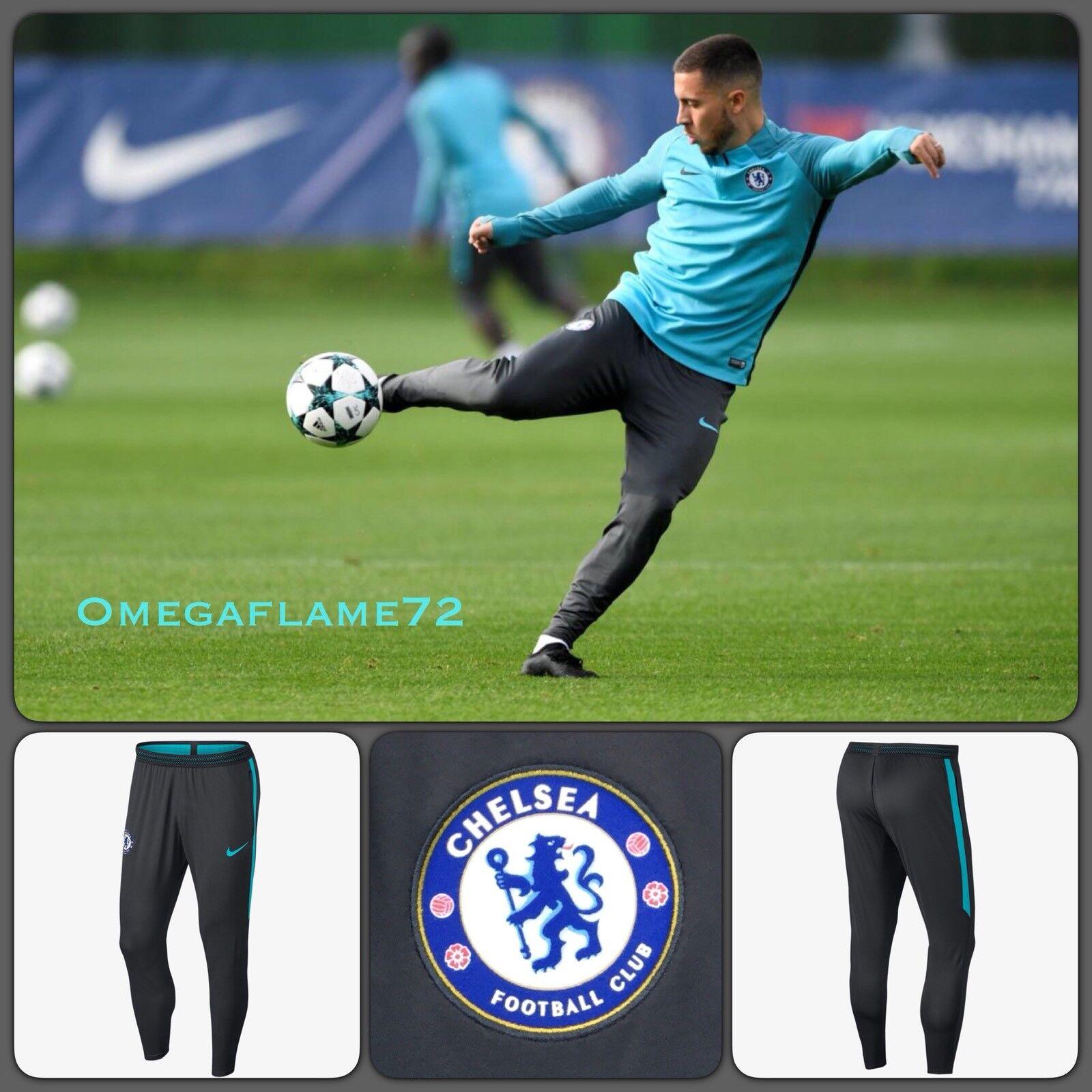 Nike Chelsea FC Dri-Fit Aeroswift Flex Strike Football Training Pants Sz Medium