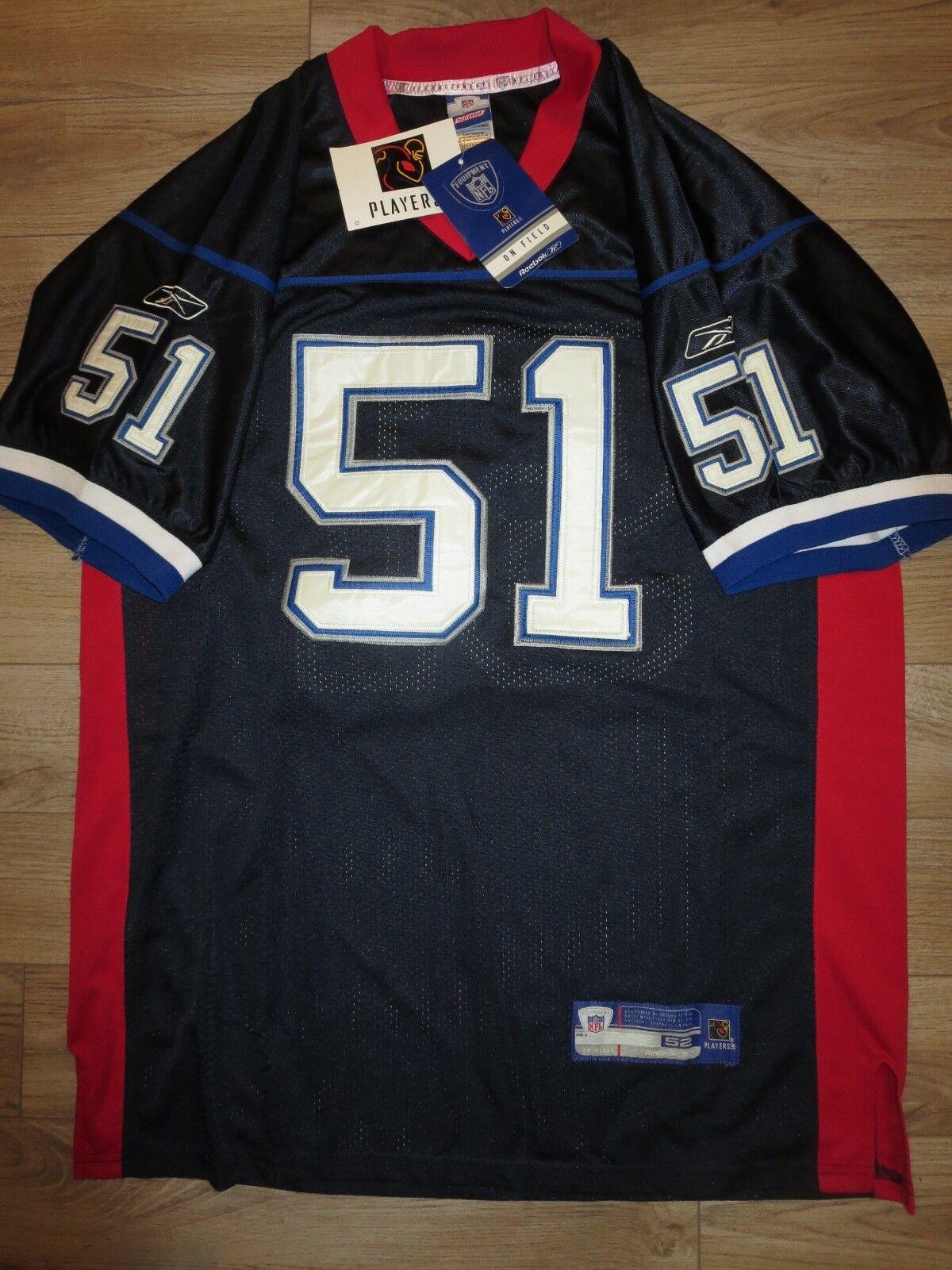 Takeo Spikes  51 Buffalo Bills NFL Reebok Trikot 52  | Sehr gelobt und vom Publikum der Verbraucher geschätzt