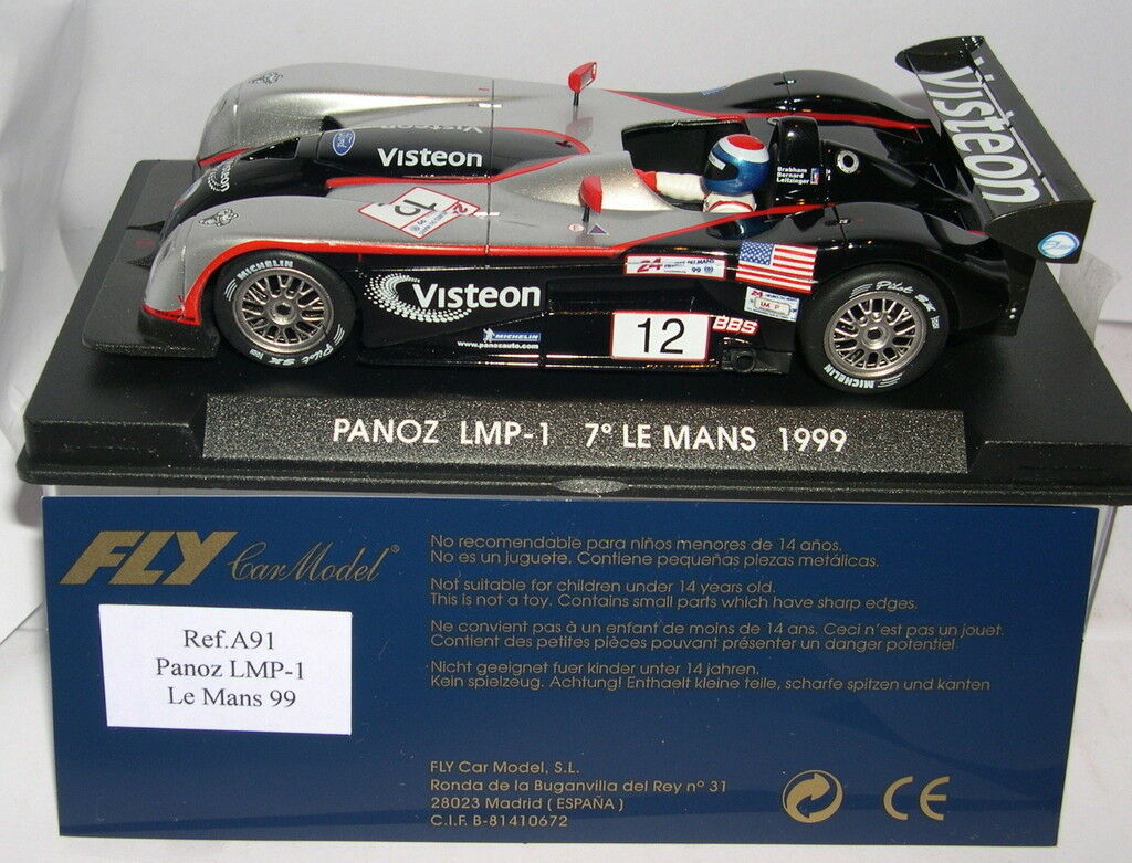 FLY A91 PANOZ LMP-1 º LE MANS 1999 VISTEON MB