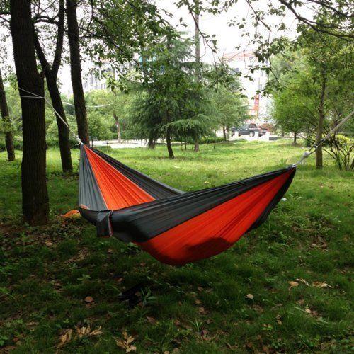 Nylon Fabric Travel Camping Hammock