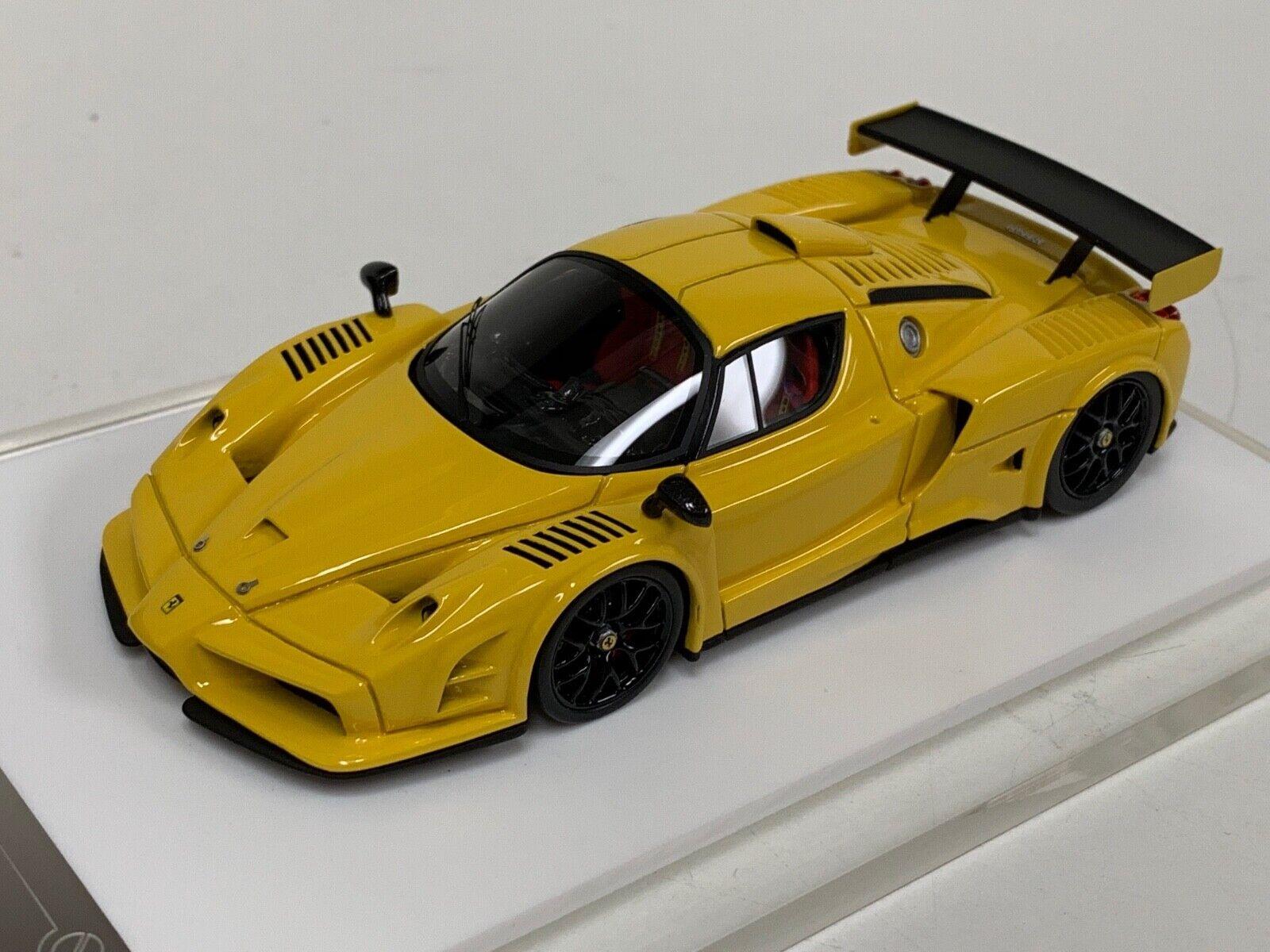 1 43 Davis and Giovanni Ferrari FXX GTC  Gelb  VERY RARE GP053