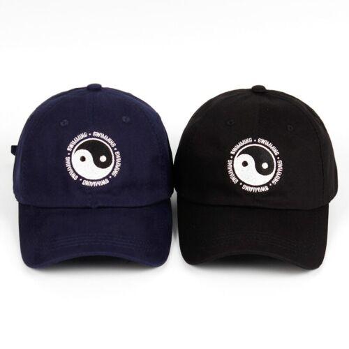 Berretto Da Baseball Unisex Mac Miller Nuoto Yin e Yang COTONE RICAMATO PAPA /'Cappello