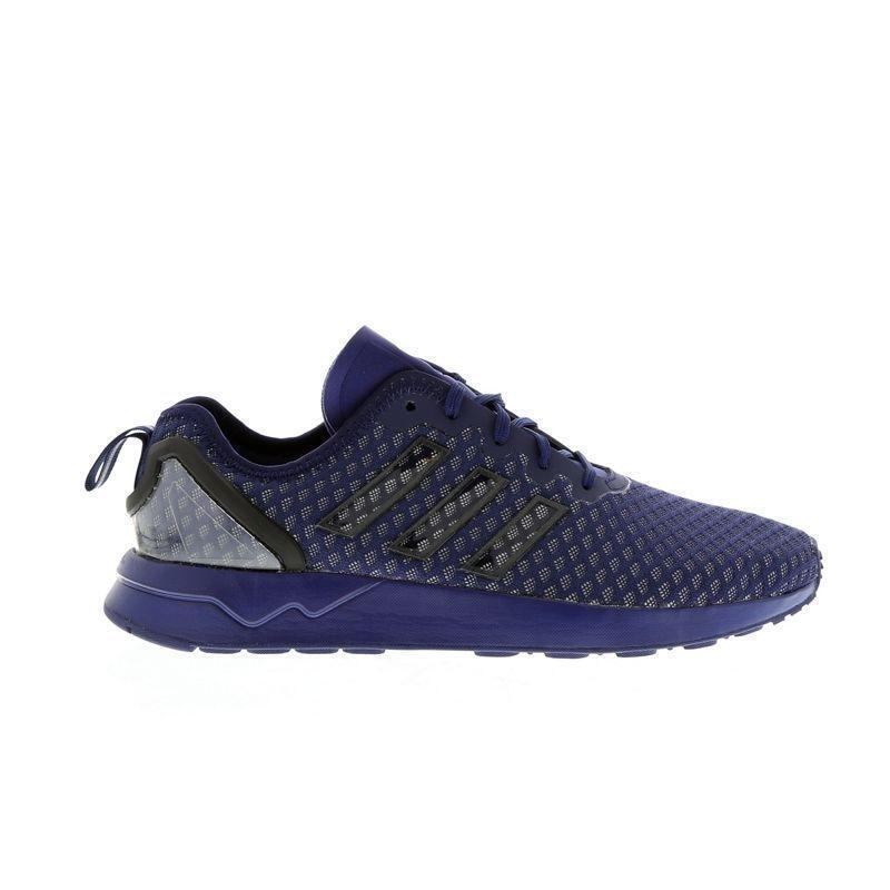 Mens ADIDAS ZX FLUX ADV Dark bluee Textile Synthetic Trainers AQ6752