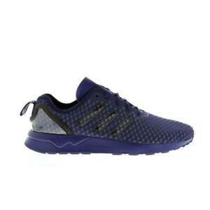 Image is loading Mens-ADIDAS-ZX-FLUX-ADV-Dark-Blue-Textile-