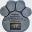 Cat-Stone-Grave-Paws-Marker-Name-Headstone-Garden-Pet-Memorial-Paw-Dog-Print thumbnail 2