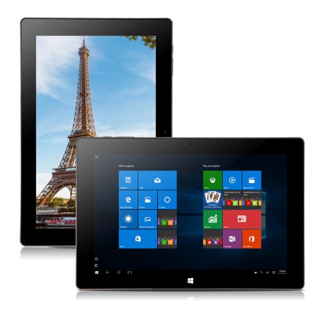 "iRULU Walknbook Hybrid 10.1"" Tablet Windows 10 Intel Notebook 2G 32GB Quad Core"