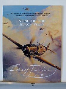 Lot-of-4-Robert-Taylor-Erich-Hartmann-Luftwaffe-Advertising-Brochures-Flyer