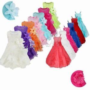 Flower-Girl-Birthday-Party-Princess-Wedding-Bridesmaid-Pageant-Formal-Tutu-Dress