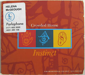 CROWDED HOUSE CD Instinct UK 1 Track PROMO in digipack w Promo Stickers - <span itemprop='availableAtOrFrom'>PAYPAL - SHIP ANYWHERE, United Kingdom</span> - Returns accepted Most purchases from business sellers are protected by the Consumer Contract Regulations 2013 which give you the right to cancel the purchase within 14 days - PAYPAL - SHIP ANYWHERE, United Kingdom