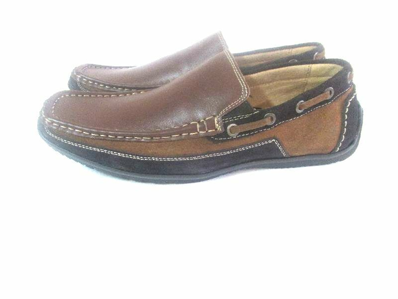LA Milano MenAll LEATHERComfort Slip-On Casual shoes Moccasin Loafers A1450