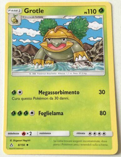 Pokemon Pokémon 8//156 ultraprisma Uncommon Card Italian Near Mint NM