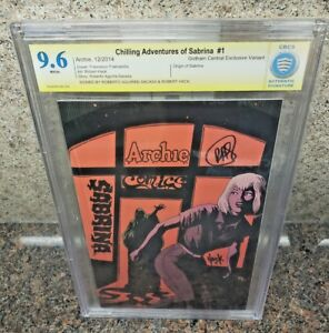 Chilling-Adventures-of-Sabrina-1-NYCC-Variant-Comic-SIGNED-RAS-amp-Hack-CBCS-CGC