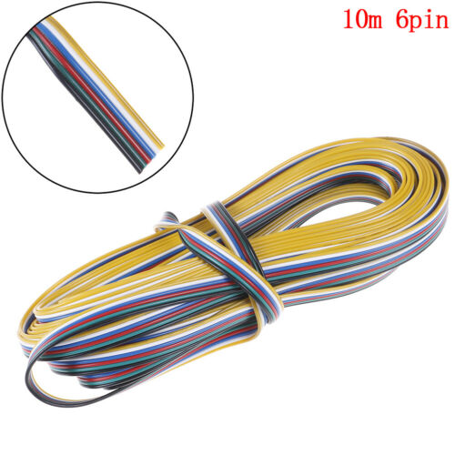 10M 6 pin Wire Cable Extension connector For RGB CCT LED Strip 22 Nw