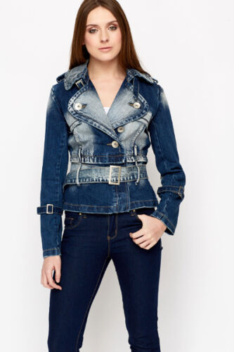 Giacca Jeans Giubbotto Donna  MISS SOFTY D463 Tg S M