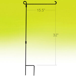 Attractive Image Is Loading 3 Piece Metal Garden Flag Pole FlagPole Fits