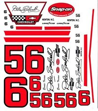 #56 Earnie Irvin Dale Earnhardt Chevrolet 1/25th - 1/24th Scale Decals