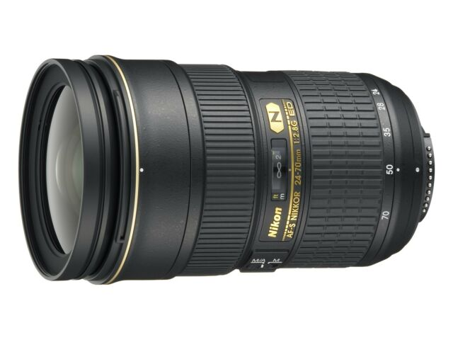 NEW Nikon AF-S 24-70mm f/2.8G ED Nikkor Zoom Lens D800 D600 D7000 D5200