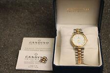 Vintage Original Swiss 25 Jewel Automatic Candino Men's Watch - Runs Great