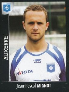 012 JEAN-PASCAL MIGNOT AJ.AUXERRE STICKER FOOT 2008 PANINI yQYRryBP-09172201-490333775