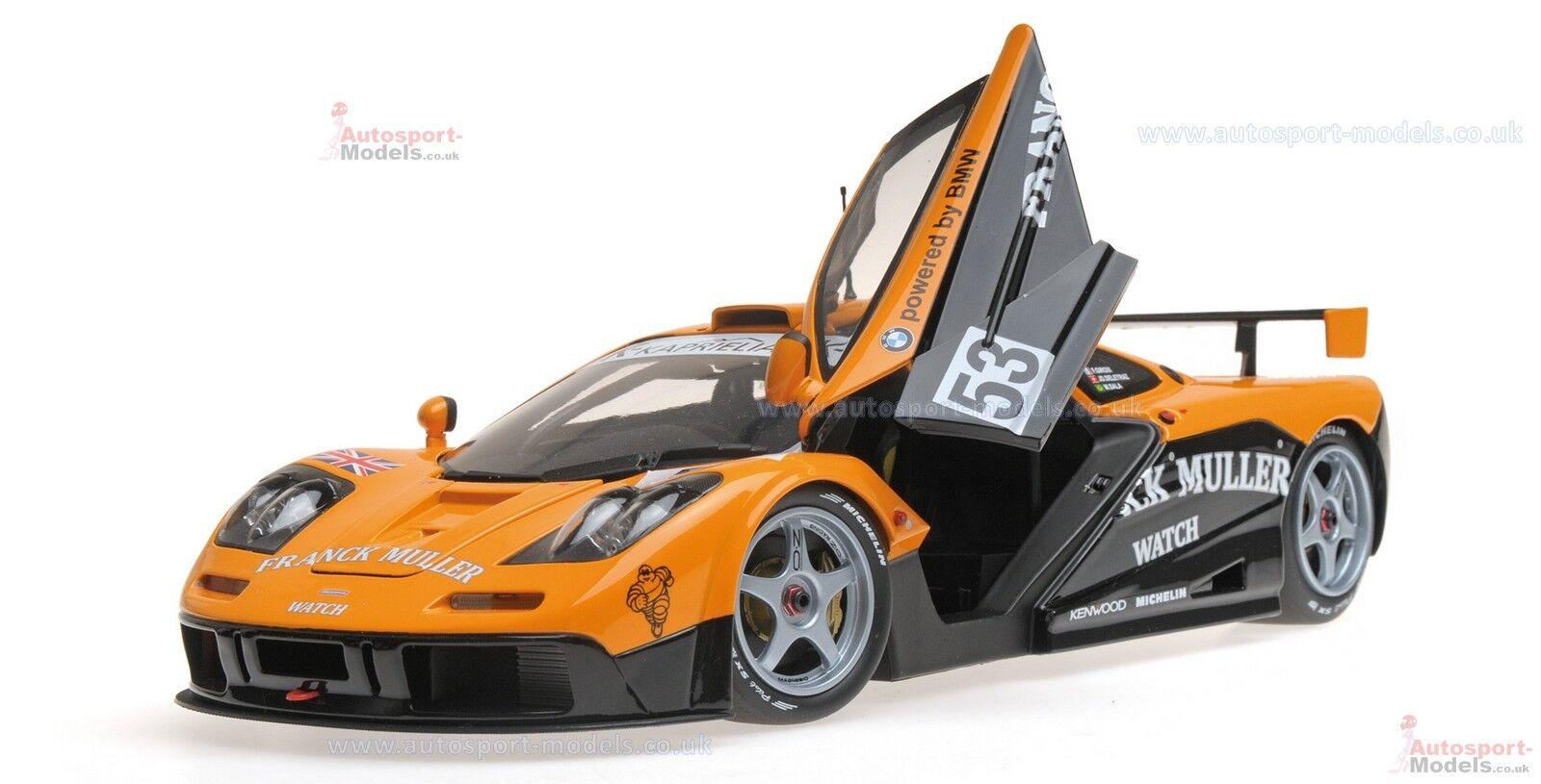 1 18 Mclaren F1 GTR - Kokusai Kaihatsu Racing - Giroix Sala Deletraz - 1996 LM