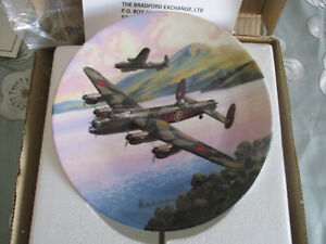 DAMBUSTERS-PRELUDE-LOW-OVER-THE-LAKE-ROYAL-WORCESTER-COLLECTORS-PLATE