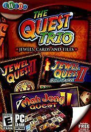 The Quest Trio: Jewel Quest II / Jewel Quest II: Solitaire / Mah Jong Quest  IWi 850772002005 | eBay