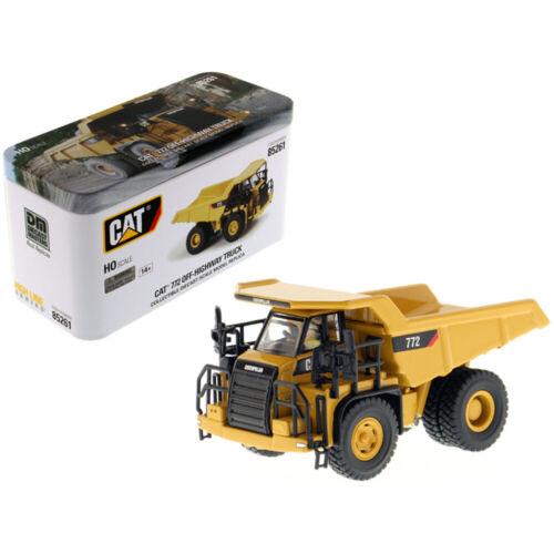 CAT Caterpillar 772 Off-Highway Dump Truck with Operator High Line Series 1//87