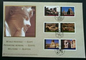 [SJ] United Nations World Heritage - Egypt 2005 Pyramid (FDC) *different PMK
