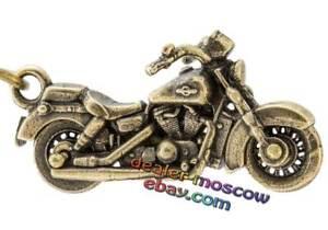 Details about Bronze Solid Brass Keychain Chopper Custom Motorcycle Bike  IronWork