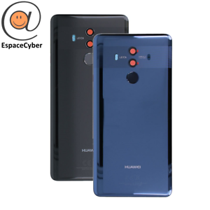 Coque-arriere-Cache-batterie-Huawei-Mate-10-Pro-Noir-Bleu-BLA-L09-Lentilles