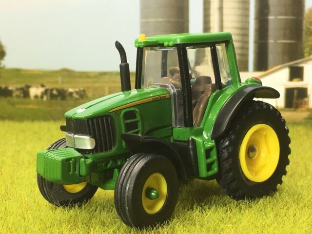 1//64 CUSTOM John Deere 4755 WITH SINGLES AND 2WD ERTL FARM TOY FREE SHIPPING