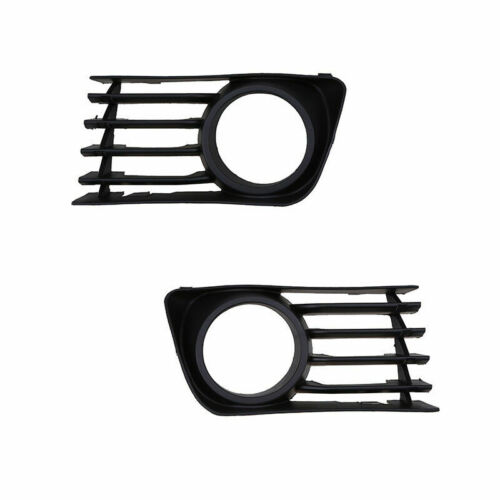 2X Lower Fog Light Lamp Hole Cover Grille Bezel Fit for 2004-2009 TOYOTA PRIUS