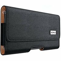 Belt Leather Pouch Holster Clip Case For Iphone 7 Cell Phone Accessories Black