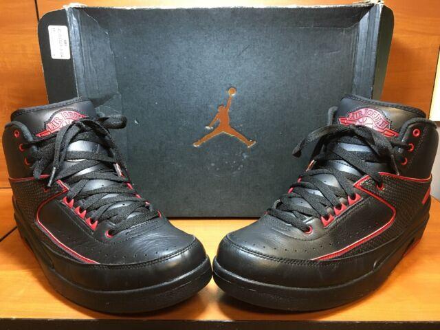 more photos ccac6 6631b Nike Air Jordan 2 II Retro Black/Varsity Red 'Alternate 87' 834274-001 Size  11