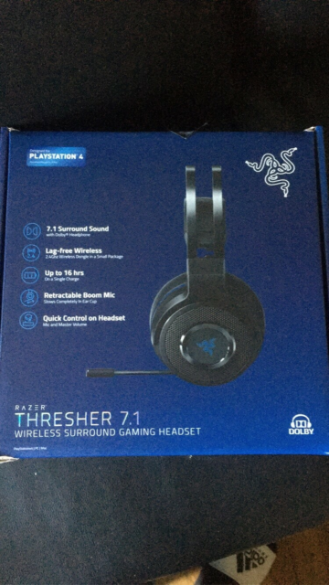 Headset, Playstation 4, Thresher 7.1 wireless sorround…