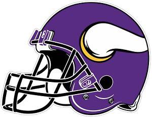 93013ba28bf Minnesota Vikings Helmet NFL Vinyl Decal   You Choose Size - 2
