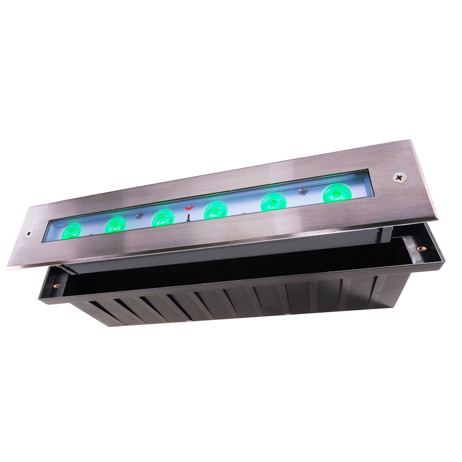 Begehbar IP67 led spot light 17w full Farbe rgb 24v dmx Optik Asymmetrisch