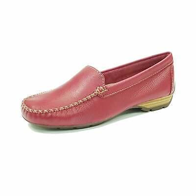 Van Dal Sanson Sangria Leather Loafer Moccasin Shoe | eBay