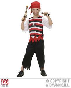 Para-Ninos-Pirata-Fancy-Dress-Costume-Jack-Sparrow-Traje-11-13-Anos
